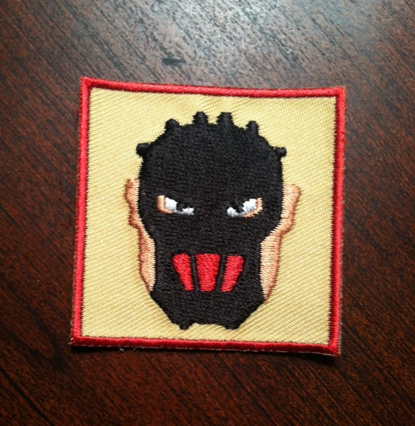finisher patch