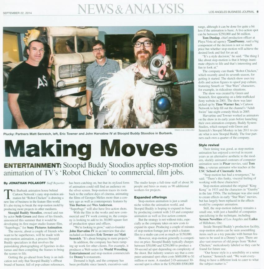 LA Business Journal 9-22-14