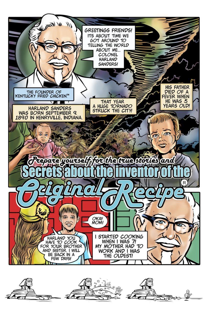 KFC Presents: The Colonel's Adventure Comics (PRNewsFoto/KFC Corporation)